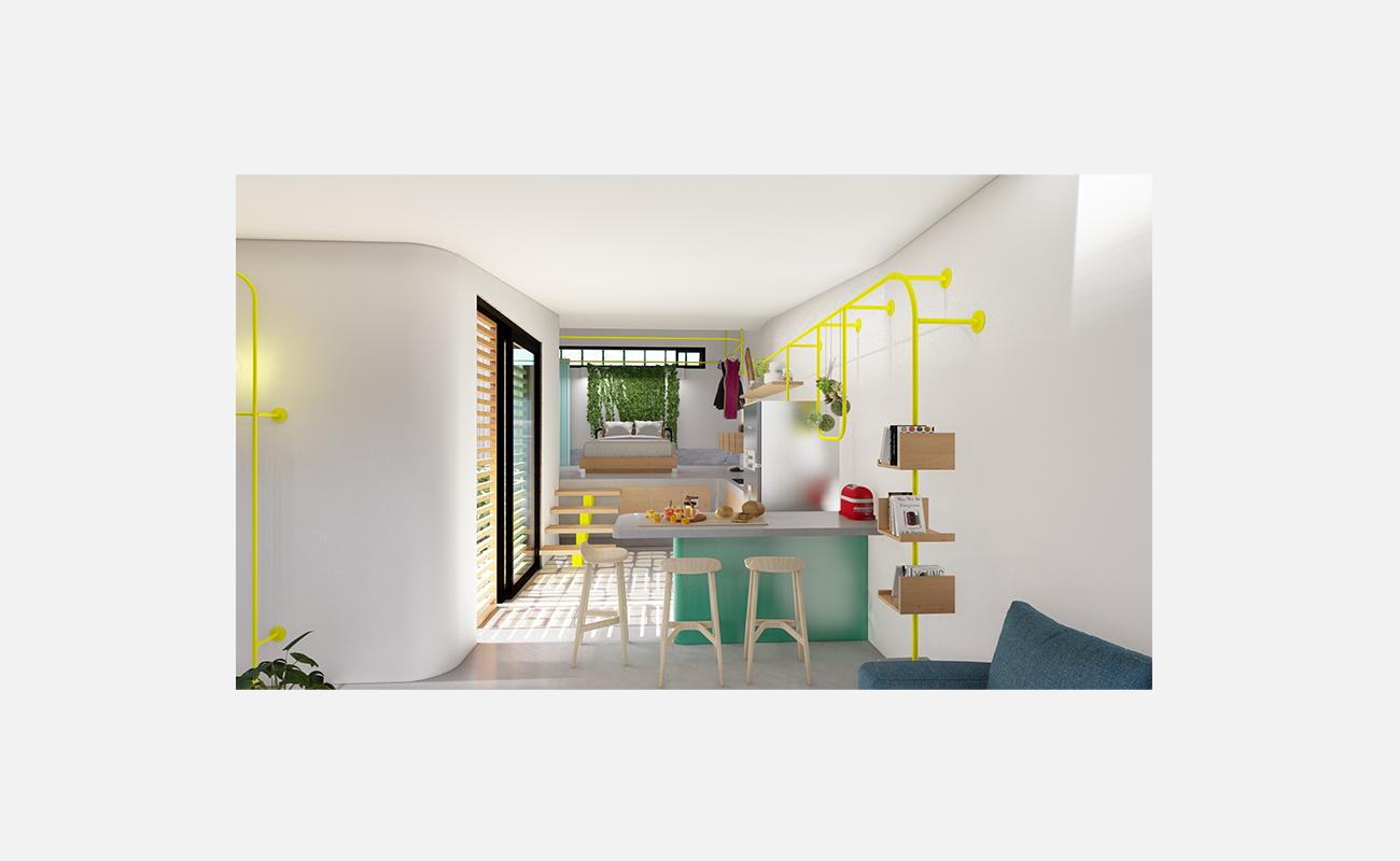 4_lemon apartment